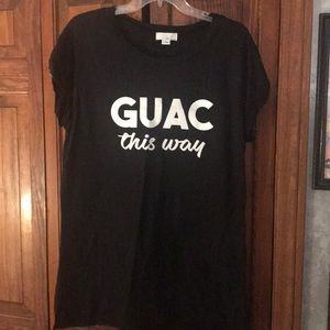 """Guac This Way"" Nordstrom T-Shirt"